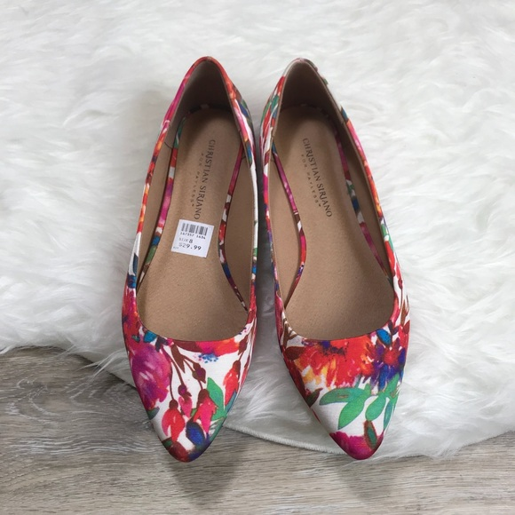6ef36f002b2 Christian Siriano Shoes - Christian Siriano for payless floral flat size 8
